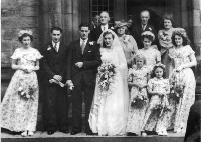 Wedding of Dorothy Moseley and John Jennison