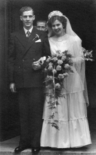 Wedding of Muriel Platt and Jack Taylor