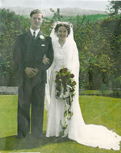 Wedding of Margaret Smith and Roy Liddiard