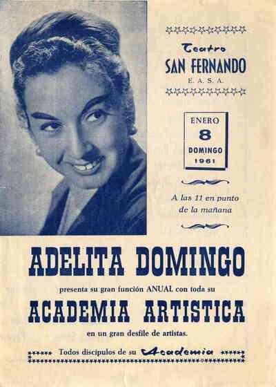 Adelita Domingo presenta su Gran función anual con toda su Academia artística