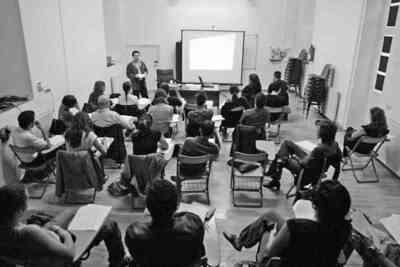 Seminario de producción y distribución teatral para actores con Jesús Cimarro. Fot.002