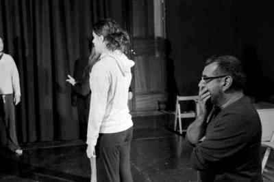 Entrenamiento para actores con Manuel Morón. Fot.003