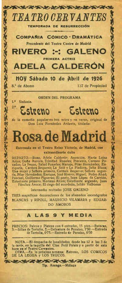 Rosa de Madrid