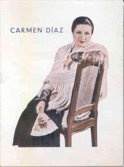 Función homenaje a Carmen Díaz
