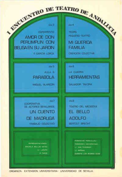 I Encuentro de Teatro de Andalucía