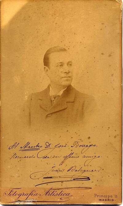 Juan Balaguer. Retrato