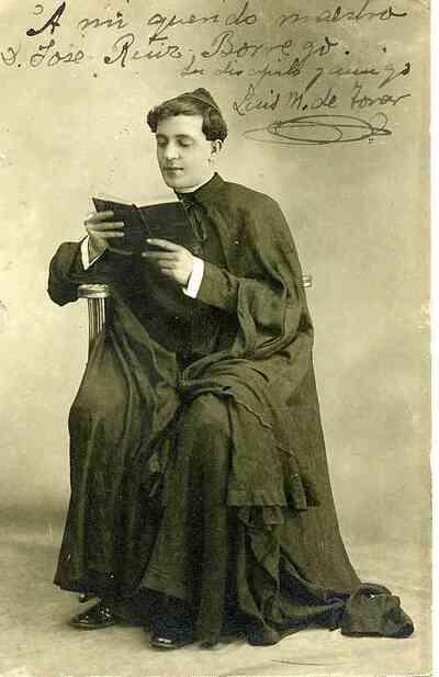 Luis. M de Tovar. Retrato