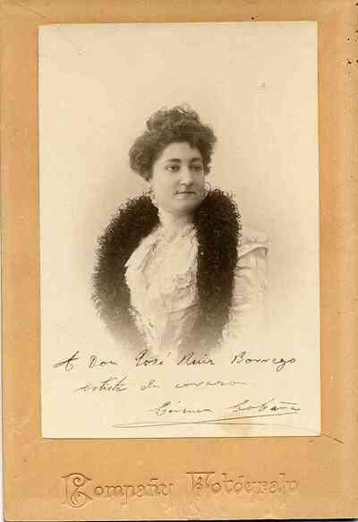 Carmen Cobeña. Retrato