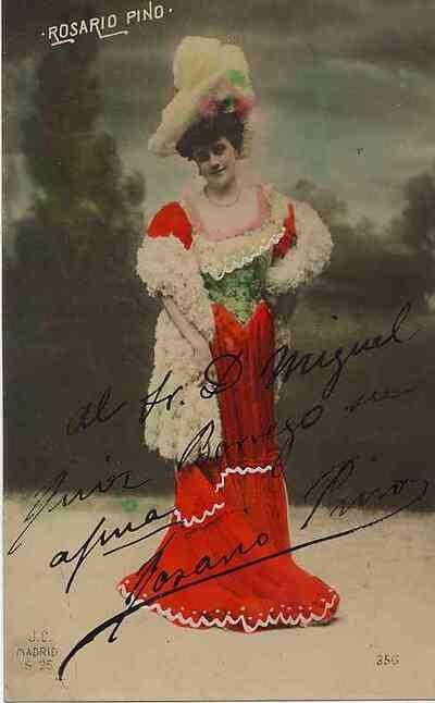 Rosario Pino. Retrato