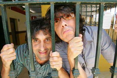 Manolo Caro y Guillermo Rayo. Retrato