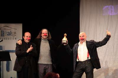 Homenaje a sindrome clown. VI premio de la unión de actores e intérprete andaluces. Fot.013