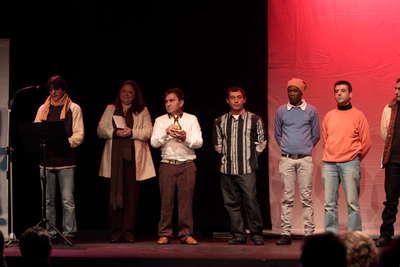Gala de entrega del VIII premio de la unión de actores e intérprete de Andalucía. Fot.006