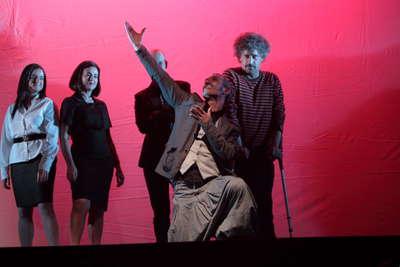 Gala de entrega del VIII premio de la unión de actores e intérprete de Andalucía. Fot.015