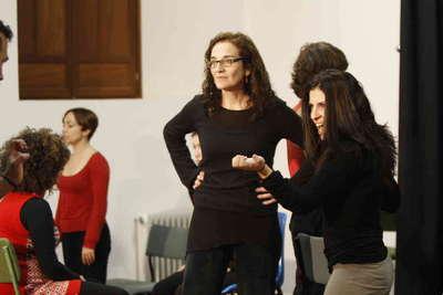 Consuelo Trujillo. Entrenamiento actoral. El trabajo del actor sobre su genio creativo. Fot005
