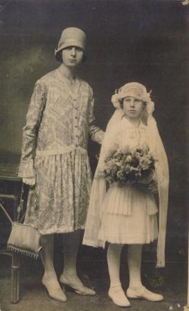 Obhajilo, Osp, 1925, mati in hči