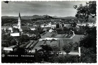 Vrhnika - panorama