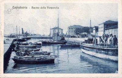 Capodistria - Bacino della Porporella