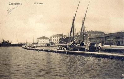 Capodistria - Il Porto, Il molo