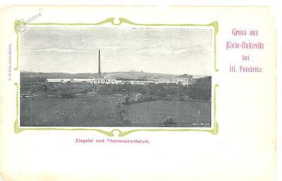 Mala Bukovica, med 1900 in 1905 letom