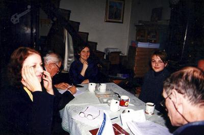 Srečanje ŠK z dr. Nevenko Bogataj v Loparju, 1999