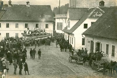 Pustni karneval leta 1927