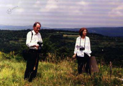 Fotografiranje travniških rastlin v Istri