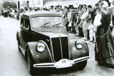 Lancia Aprilia, letnik 1938