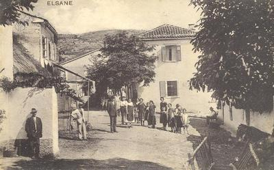 Elsane, okrog 1925 leta