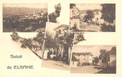 Saluti da Elsane, okrog 1928 leta