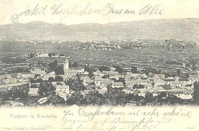 Pozdrav iz Knežaka, okrog 1902 leta