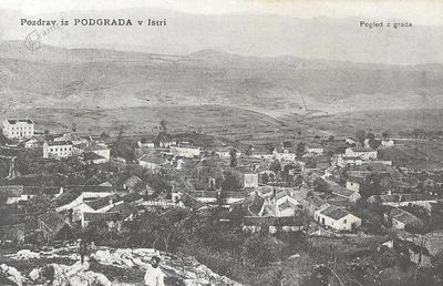 Pograd, okrog 1905 leta