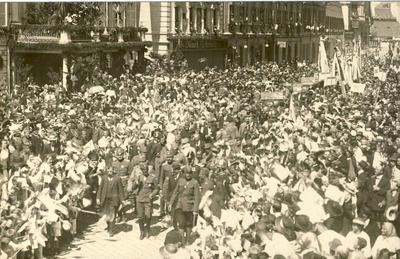 Regent Aleksander v Celju 1920
