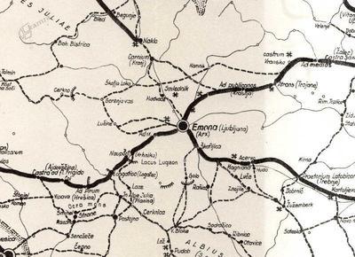 Rimske ceste v Grosupeljski kotlini