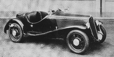 Spider sport, 1934