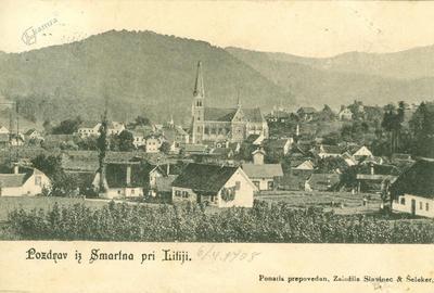 Šmartno pri Litiji leta 1908