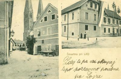 Šmartno pri Litiji leta 1910