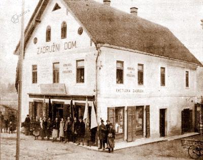 Jakličeva hiša v Šmartnem leta 1925
