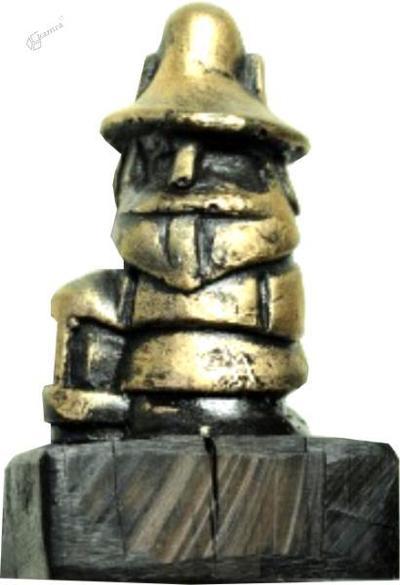 Ovnikov Perkmandeljc kot kip