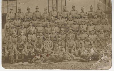 Vojaška razglednica Antona Tomazina