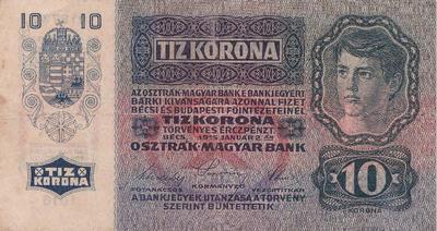 Bankovec za deset kron