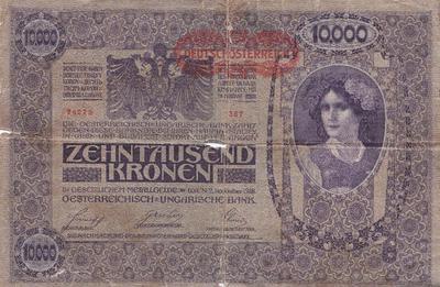Bankovec za 10.000 kron