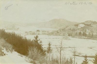 Zimska pokrajina Logatca