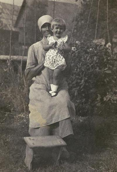 Preželj Frančiška na Slovenskem Javorniku, 1934