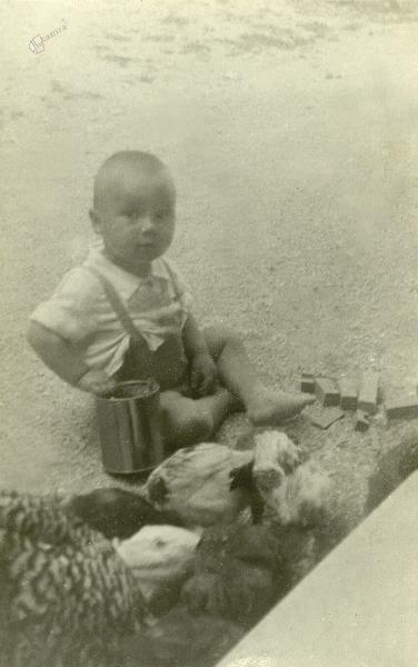 Pavel Smolej Pri Kajžu v Trebežu, 1948