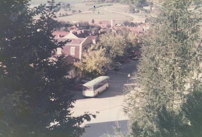 Pogled z gradu na trg
