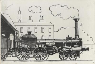 Parna lokomotiva Triglav iz časov Južne železnice
