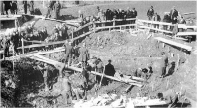 Odkopavanje in zaščita kosti