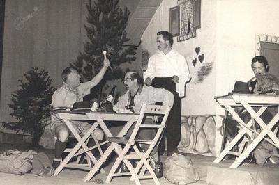 Prizor iz operete Planinska roža iz leta 1962