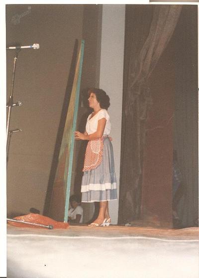 Prizor iz operete Planinska roža iz leta 1982