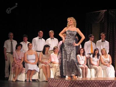 Prizor iz operete Melodije srca
